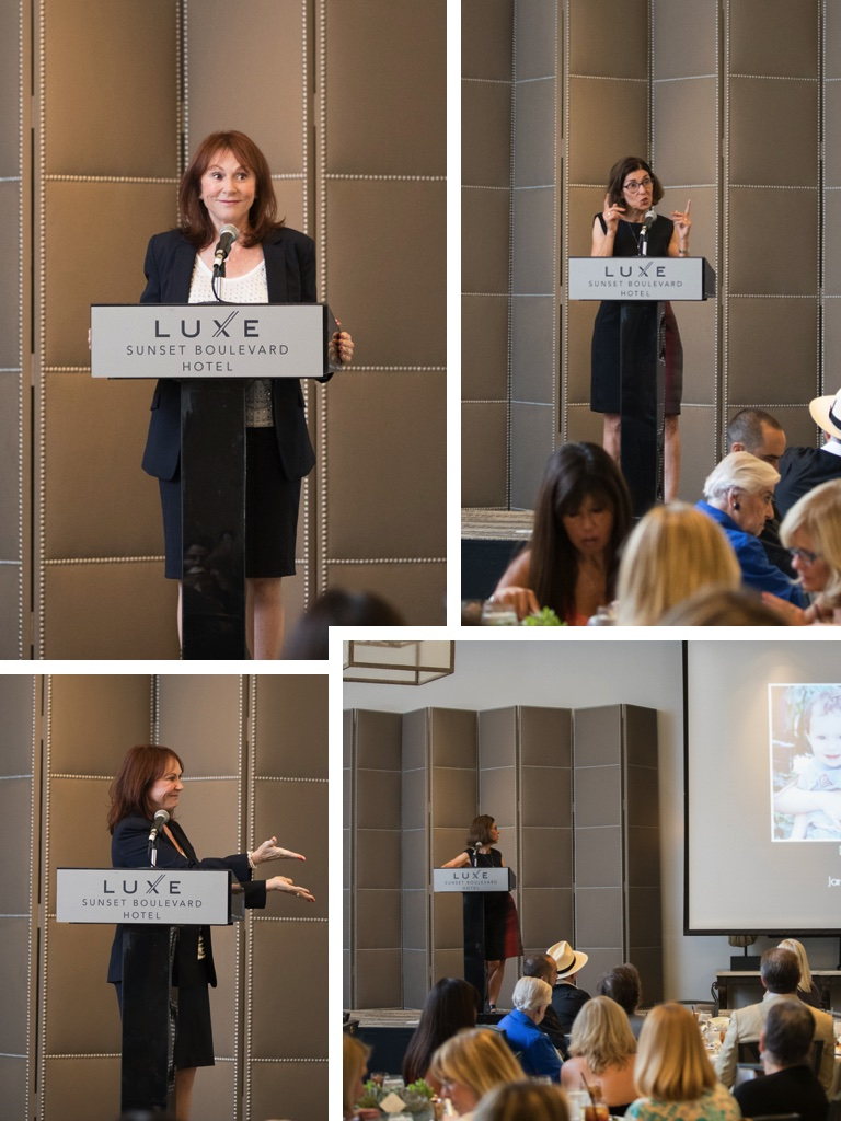Susan-speaking-collage