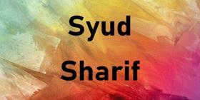Sharif-Syud-2020