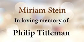 Stein-Miriam-2020