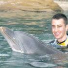 Matt-and-dolphin-Sea-World